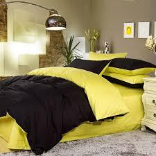 Yellow Bedding Set Yellow And Black Comforter Set Home Imageneitor
