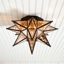 star light fixtures ceiling moravian star ceiling mount ballard designs