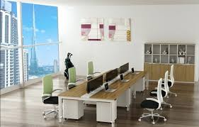 Two Desks In One Office Office Desk Long Office Desk Barbarian Group One Giant By
