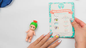 personail nail polish wraps cute nail art in minutes by alice