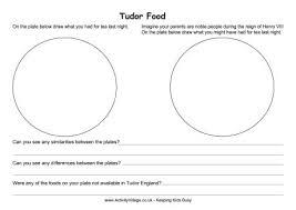 tudor worksheets