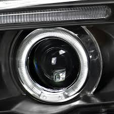 bmw x5 headlights 01 03 bmw x5 e53 eye halo projector headlights with hid kit
