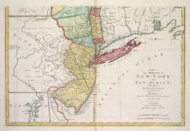 Map Of New York And Pennsylvania by File A Map Of The Provinces Of New York And New Jersey With A