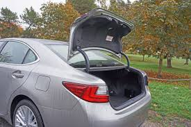 lexus es 350 trunk space 2016 lexus es 350 executive road test review carcostcanada