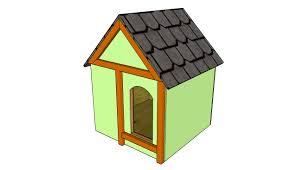 large dog house plans myoutdoorplans free woodworking plans