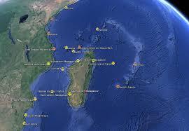 Indian Ocean Map Noaa Coral Reef Watch Western Indian Ocean Virtual Stations