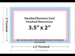 Business Card Standard Dimensions Business Card Size In Adobe Photoshop Youtube