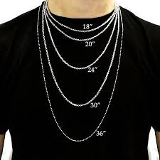 men necklace sizes images Necklace length men necklace size chart hand made jewelry jpg