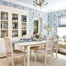 Living Room To Dining Room Dining Room Wallpaper Ideas Ideal Home