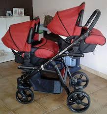 poussette si e auto poussette pour jumeaux complète 3 pièces sièges nacelles sièges