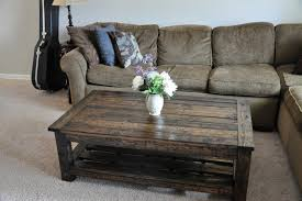 rustic coffee table with storage rustic homemade coffee table ideas