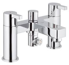 grohe lineare half inch deck mounted bath shower mixer tap 25113000 grohe lineare half inch deck mounted bath shower mixer tap