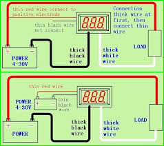 usefulldata ammeter schematic and diagram