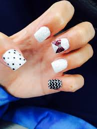 cute fall gel nails with bow nails pinterest fall gel nails