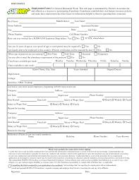Subway Resume Example by Subway Resume Uxhandy Com