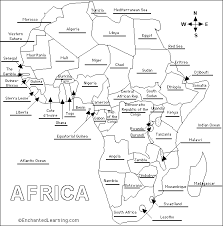 africa map answers jabali acrobats s notes