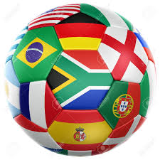 Football Country Flags 3d Rendering Of A Soccer Ball With Flags Of The Participating