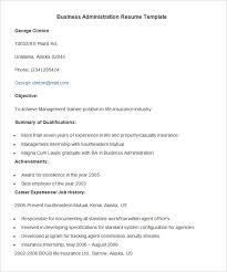administration resume business administration resume example of business analyst