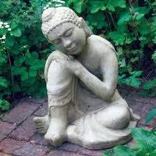 modren garden buddha statue and more on by agalvicius to design ideas