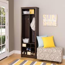 Entryway Shoe Storage Bench And Wall Mount Hutch Saving Entryway Organizer With Shoe Storage