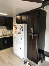 how to clean espresso cabinets buy espresso assembled kitchen cabinets