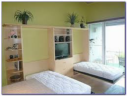 Murphy Desk Bed Plans Horizontal Murphy Bed With Desk Bedroom Home Design Ideas