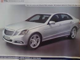 mercedes benz biome inside the 2010 mercedes benz e class featured in auto bild