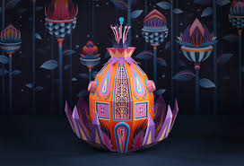 designboom hermes fantastic miniature worlds bursting with color for hermès window