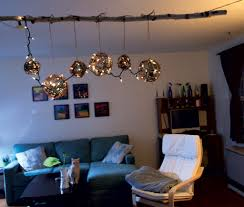 making a chandelier how to make a chandelier with christmas lights diy home seven