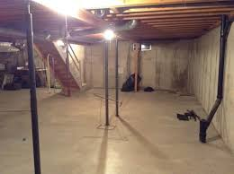 Temporary Wall Ideas Basement by Help Make An Unfinished Basement Usable