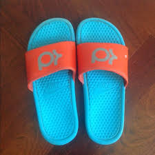 70 nike shoes nike kd slides youth 7 blue orange from