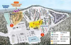 Green Circle Trail Map Nordic Mountain