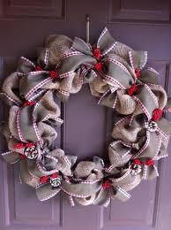 burlap christmas wreath home decor 25 christmas wreath ideas messagenote