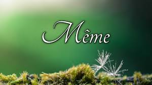 How To Pronounce Meme In French - how to pronounce même in french youtube