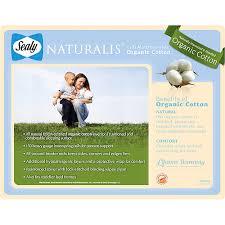 Sealy Naturalis Crib Mattress With Organic Cotton Sealy Naturalis Crib Mattress Walmart