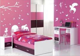 Barbie Home Decoration by Bedroom Contemporary Astonishing Kids Room Style Pink Wallpaper
