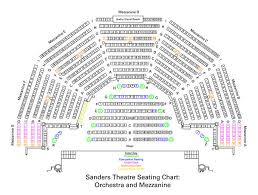 orchestra floor plan sanders theatre seating charts office for the arts at harvard