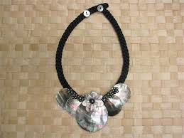 shell necklace images 5 round mother of pearl tahitian shell necklace alohaoutlet jpg
