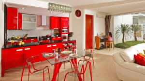Red Kitchen Set - red kitchen ideas shoise com
