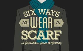 6 ways to tie a scarf for men tying scarves u0026 men u0027s style the