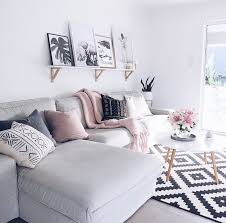 Living Room Grey Sofa by