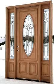 Solid Wood Exterior Doors Front Doors Beautiful Solid Wood Front Door For Great Looks Door