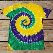 mardi gras tie kid s mardi gras tie dye t shirt youth sizes s m l xl
