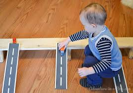 How To Make A Easy Toy Box by Wooden Road Tracks And Ramps Diy Project