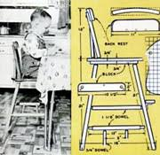 wooden high chair plans free ana white build a doll high chair