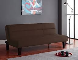 amazon com dorel home products kebo futon chocolate brown