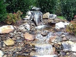 Small Garden Waterfall Ideas Small Backyard Waterfalls Cool Backyard Waterfalls Ideas Images