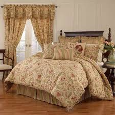 Rose Tree Symphony Comforter Set Bedroom Chic Silvery Rose Tree Bedding And Silvery Curtain Rose
