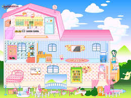 barbie house dress up and home decoration game baby games