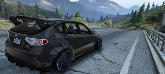 subaru wrx widebody 2008 subaru wrx widebody add on replace gta5 mods com